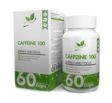Энергетик NaturalSupp Кафеин 100 мг 60 капс