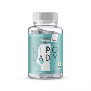 Жиросжигатель GeneticLAB LIPO Lady 120 капс