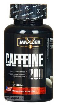 Энергетик Maxler Кафеин 200 мг 100 капс