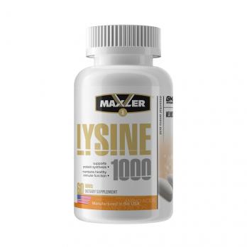 Аминокислота Maxler Lysine 1000 60 капс