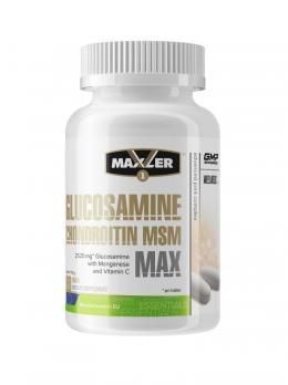 Средство для суставов и связок Maxler Glucosamine Chondroitin MSM MAX 90 табл
