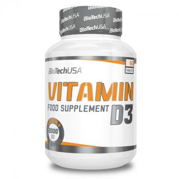 Витамины BioTechUSA Vitamine D3 2000 IU 60 табл