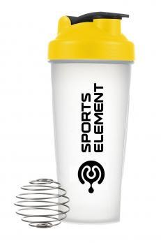 Шейкер Спортивный элемент, 600 мл, прозрачный
