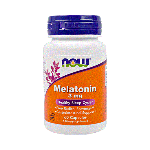 Мелатонин NOW Melatonin 60 таб по 3 мг