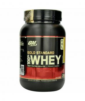 Протеин Optimum Nutrition 100% Whey protein Gold Standart 908 гр
