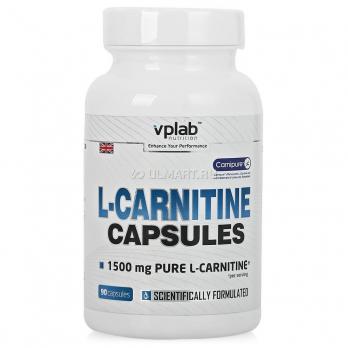 L-карнитин VPlab L-carnitine 1500 мг 90 капс