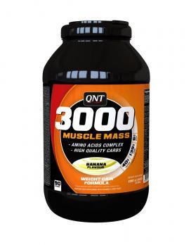 Гейнер QNT Muscle Mass 3000 1300 гр