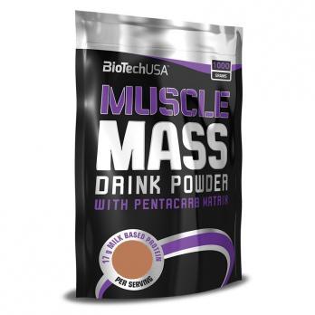 Гейнер BioTech USA Muscle Mass bag 1000 гр