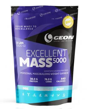 Гейнер GEON Excellent MASS 5000 920 гр