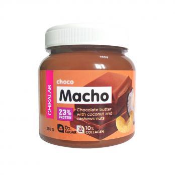 Паста Macho CHIKALAB Паста шоколадная с кокосом и кешью 250 гр