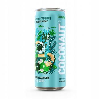 Кокосовая вода Coconaut газированная, 320 мл