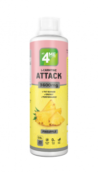 L-карнитин 4ME NUTRITION L-carnitine ATTACK 500 мл