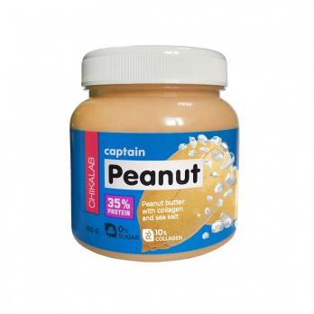 Паста Peanut CHIKALAB Арахисовая паста с морской солью 250 гр