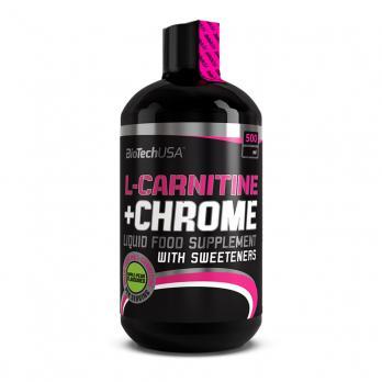 L-карнитин BioTechUSA L-carnitine+chrome 500 мл