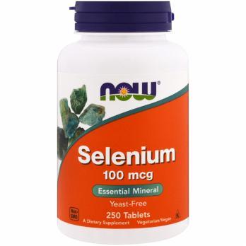 Витамины NOW Selenium 100 мг 100 капс