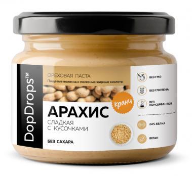 Арахисовая паста DopDrops 250 гр