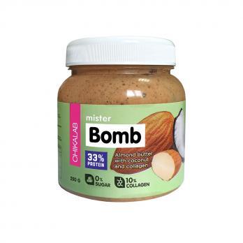 Паста Bomb CHIKALAB Миндальная паста с кокосом 250 гр