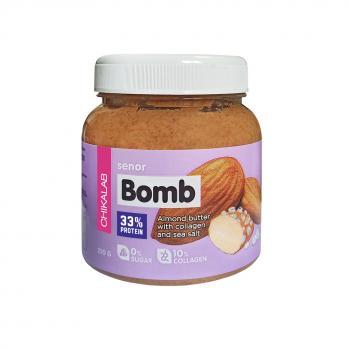 Паста Bomb CHIKALAB Миндальная паста с морской солью 250 гр