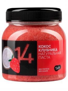 Кокосовая паста Tatis c клубникой 250 гр