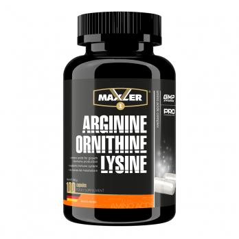 Аминокислотный комплекс Maxler Arginine Ornithine Lysine 100 капс